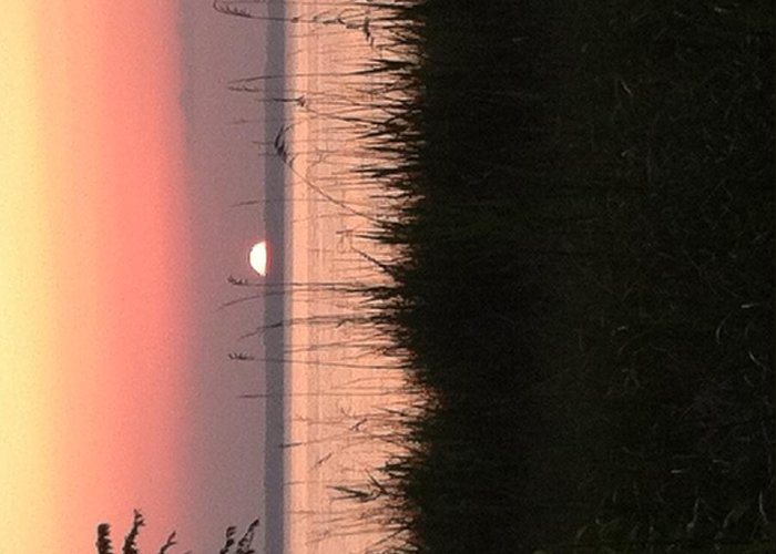 Sunset Greeting Card featuring the photograph Sunset From Terapin by Crystal Morgan