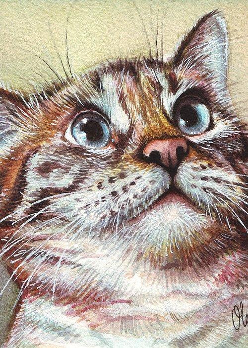 Pet Portrait Greeting Cards