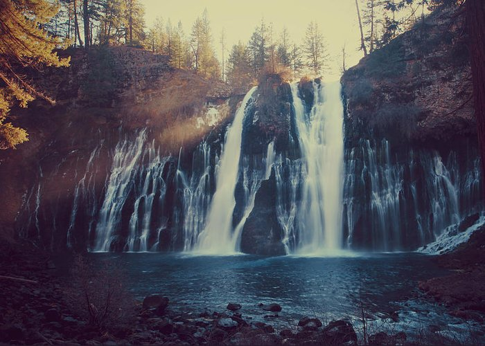 Burney Falls State Park Greeting Card featuring the photograph Sweet Memories by Laurie Search