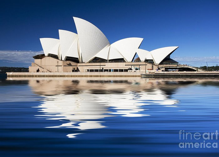 Sydney Opera House Greeting Card featuring the photograph Sydney Icon by Sheila Smart Fine Art Photography