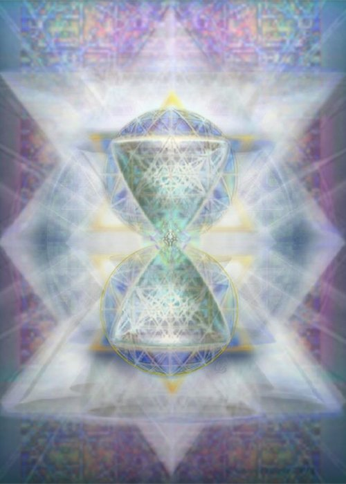 SyntheSphered Chalice Fifouray Star on Tapestry Digital Art by Chris Pringer