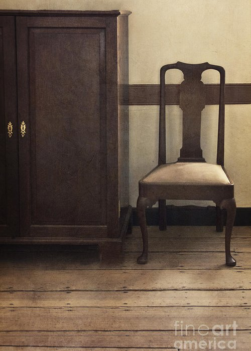 Chair Greeting Card featuring the photograph Take A Seat by Margie Hurwich