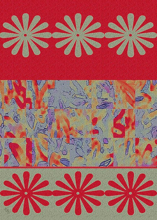 Fabric Collage Tapestries Textiles Greeting Cards
