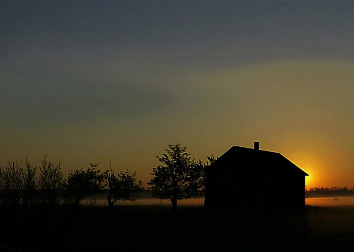 Sun Greeting Card featuring the photograph Tawas Morning by Jim Law