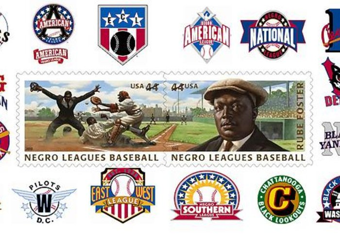 Teams Of The Negro Leagues Greeting Card