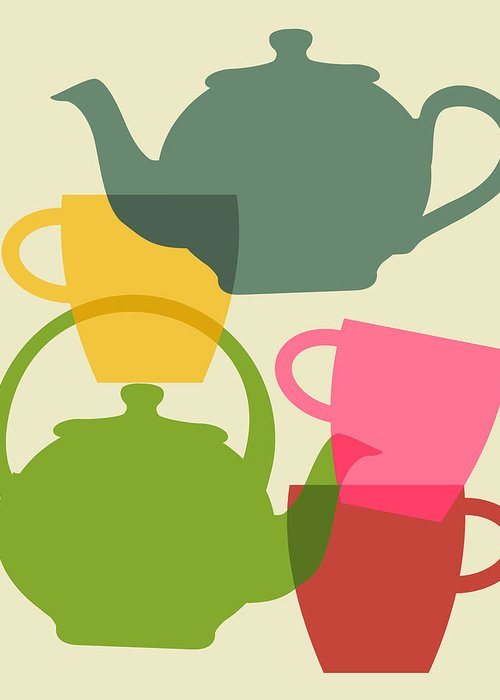 Teapot Greeting Cards