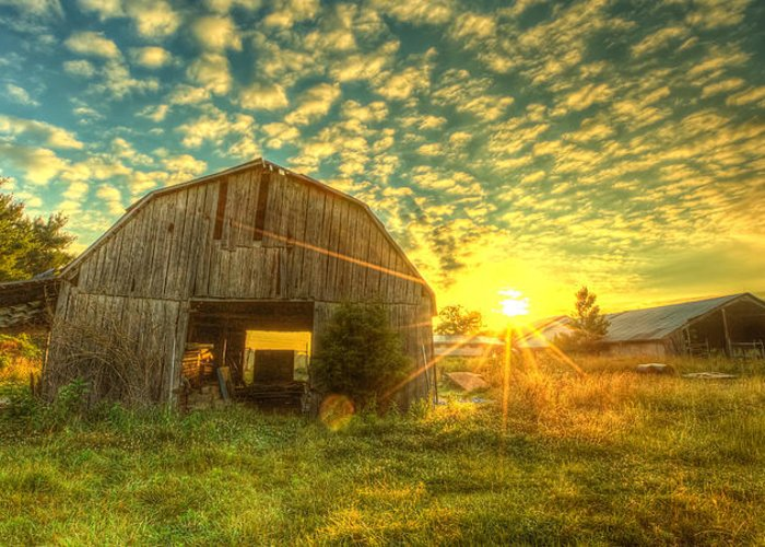 Tennessee Barn Greeting Cards