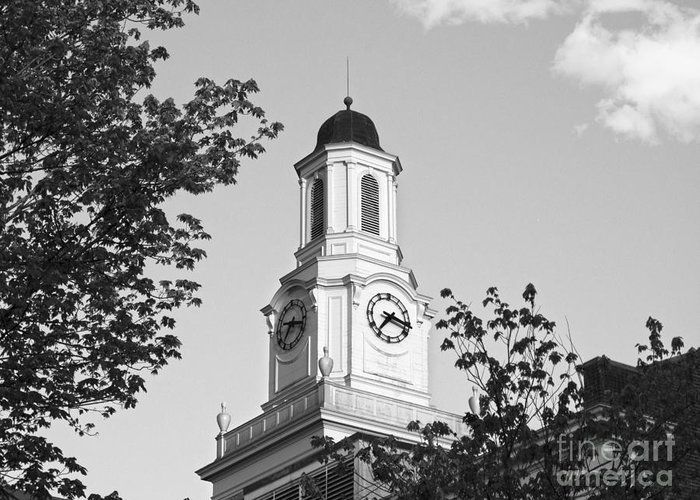 Cookeville Greeting Card featuring the photograph Tennessee Tech University Derryberry Hall by University Icons