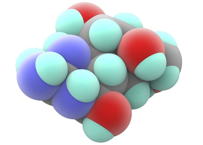 Chemical Compound Greeting Cards