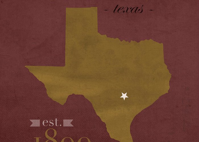 Texas State Bobcats Greeting Cards