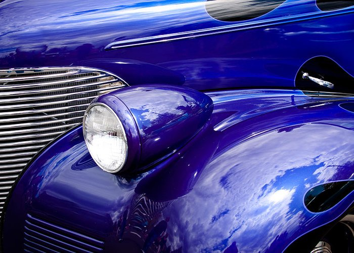 39 Greeting Card featuring the photograph The 1939 Chevy Coupe by David Patterson