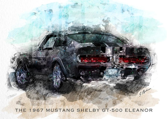Shelby Mustangs Greeting Cards
