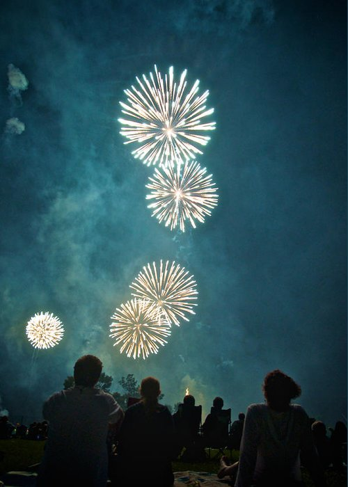 July 4th Photographs Greeting Cards