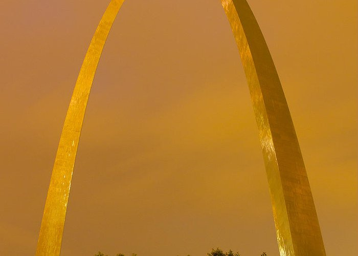 St. Louis Arch Greeting Cards