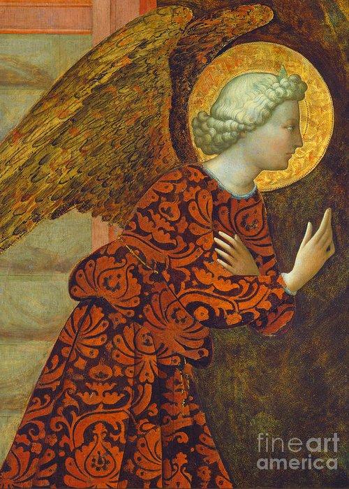 Gabriel The Angel Greeting Cards