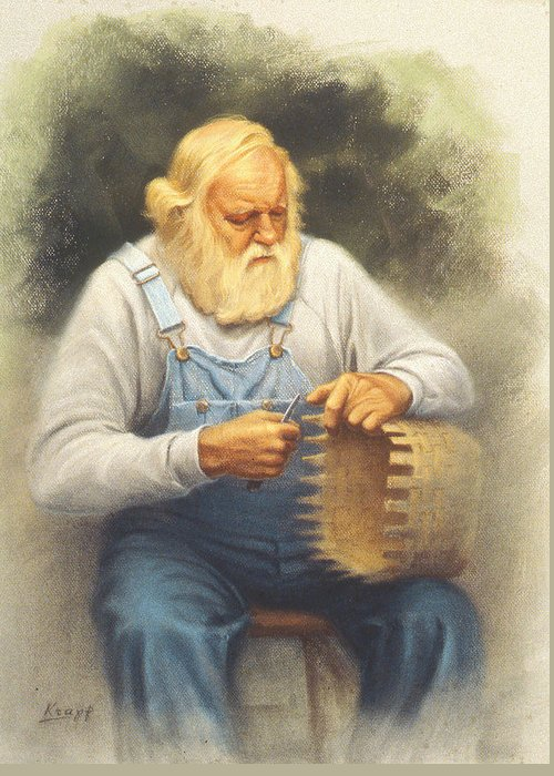 Colonial Man Greeting Cards
