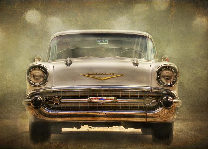 Car Greeting Card featuring the photograph The Beast by Mario Celzner