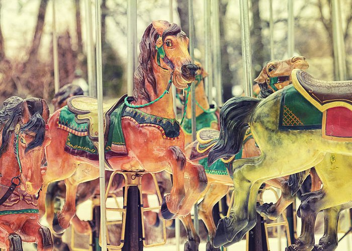 Carousel Greeting Cards