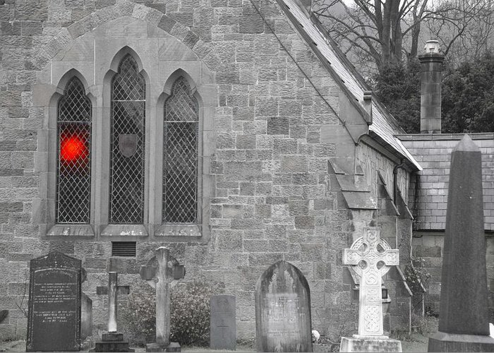 Church Greeting Card featuring the photograph The Church 2 by Christopher Rowlands