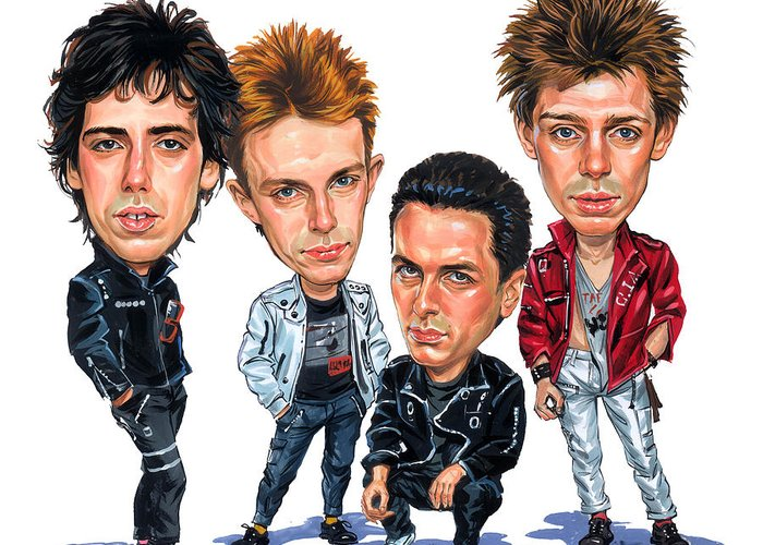 The Clash Greeting Cards