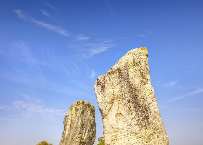 Avebury Greeting Card featuring the photograph The Cove Avebury Wiltshire by Colin and Linda McKie