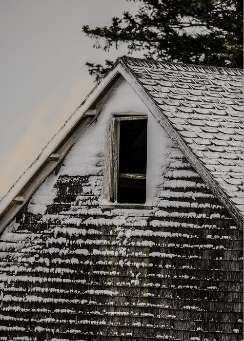 Barn Greeting Card featuring the photograph The Crows Nest by Susan Capuano
