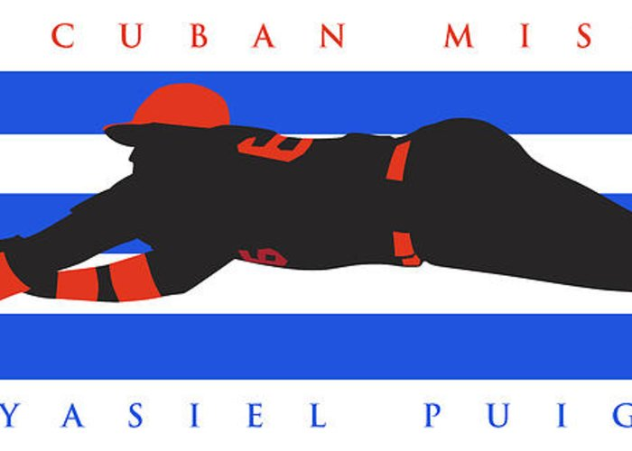The Cuban Missile Greeting Card featuring the photograph The Cuban Missile by Ron Regalado