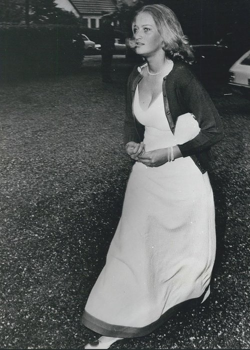 retro Images Archive Greeting Card featuring the photograph The Danes Believe Countess Desires Could Be The Bride For by Retro Images Archive