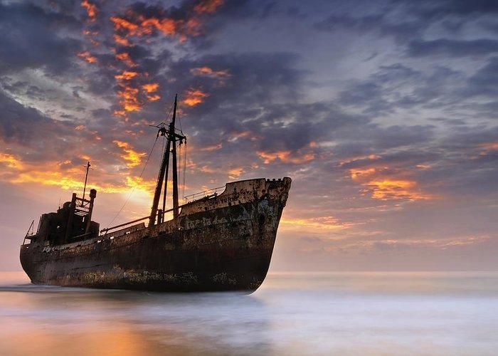 Shipwrecks Greeting Cards