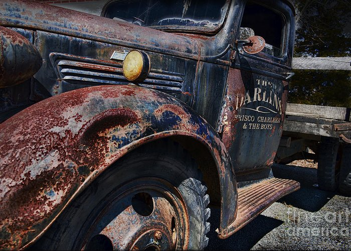 Truck Greeting Card featuring the photograph The Darlins Truck by David Arment