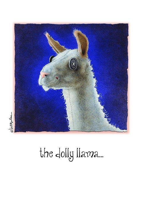 Llama Greeting Cards