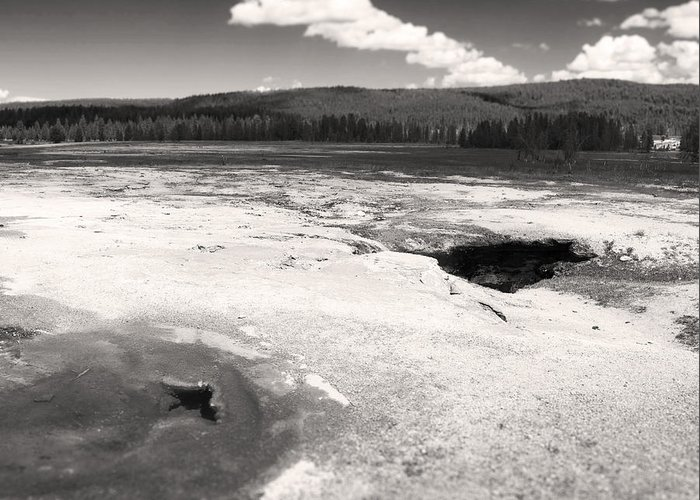 Yellowstone National Park Greeting Card featuring the photograph The Earth Beneath Our Feet by Bianca Ramirez