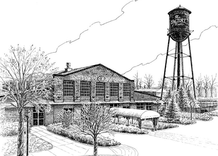 Dortch Stove Works Drawings Greeting Cards