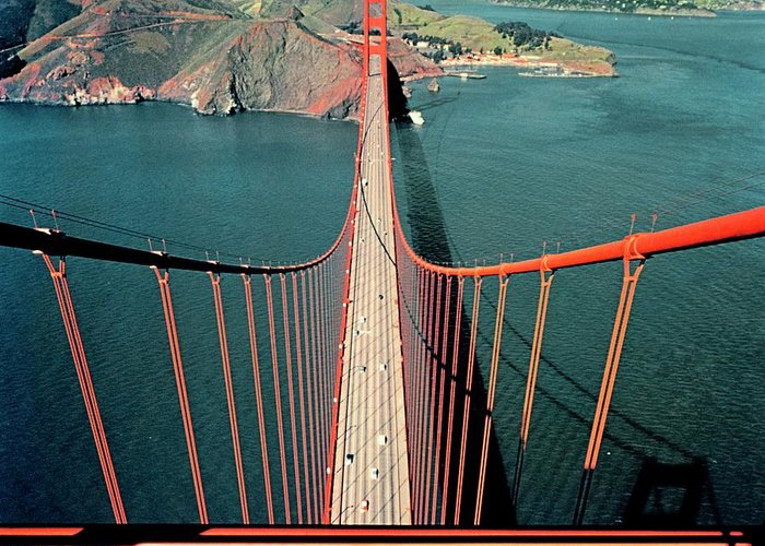 San Francisco Bridge Greeting Cards