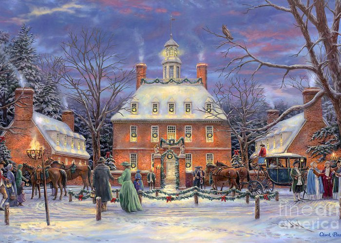The Governor's Party Greeting Card for Sale by Chuck Pinson