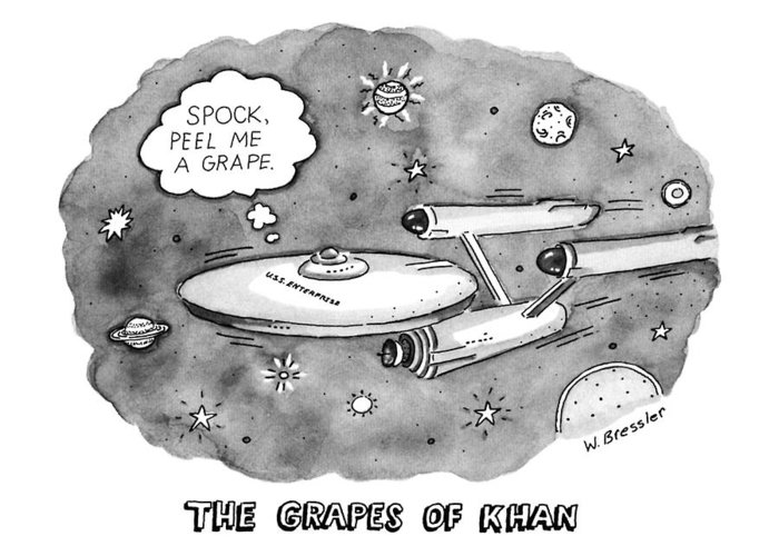 The Wrath Of Khan Greeting Cards