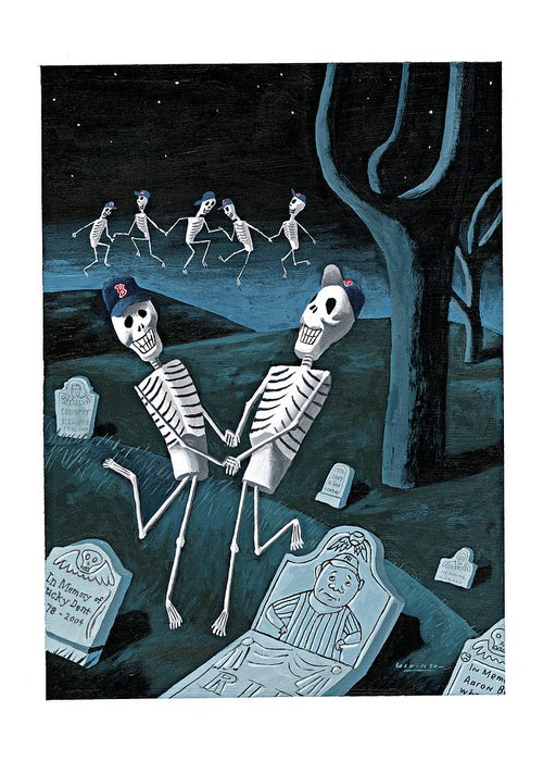 The grateful dead greeting card for sale by mark ulriksen 119998 mul mark ulriksen sports death babe ruth boston regional graveyards greeting card featuring the digital m4hsunfo
