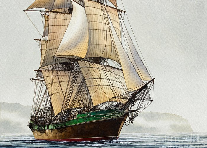 Age Of Sail Greeting Cards