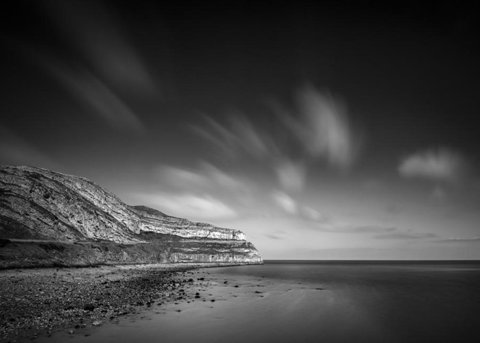 The Great Orme Greeting Card featuring the photograph The Great Orme by Dave Bowman
