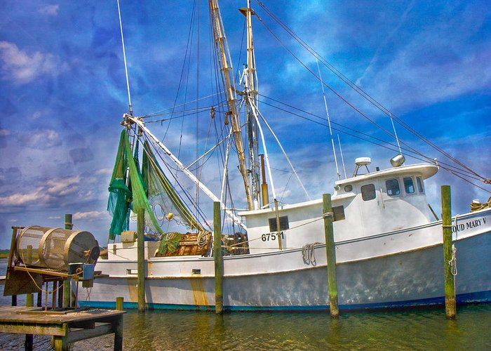 Surf Greeting Card featuring the photograph The Harbor II by Betsy Knapp