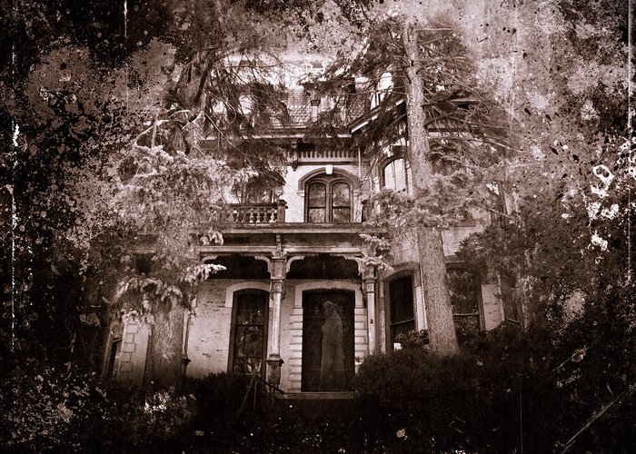 Haunting Greeting Card featuring the photograph The Haunting by David Dehner