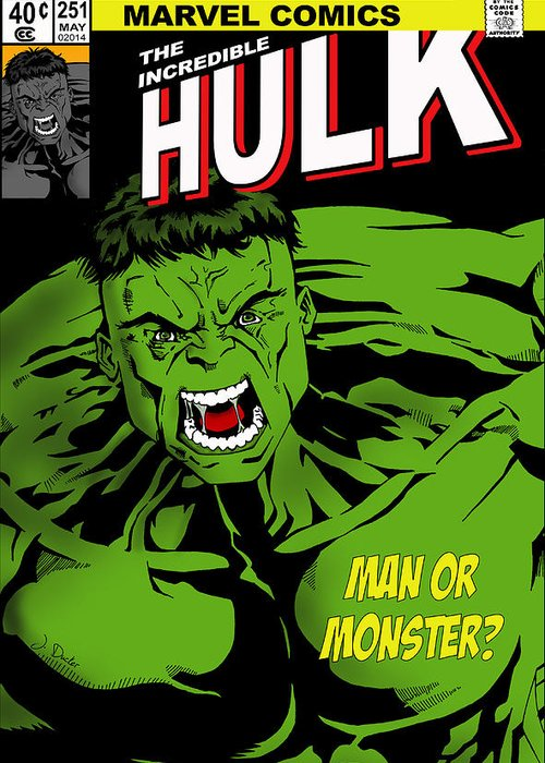 The Incredible Hulk Greeting Cards