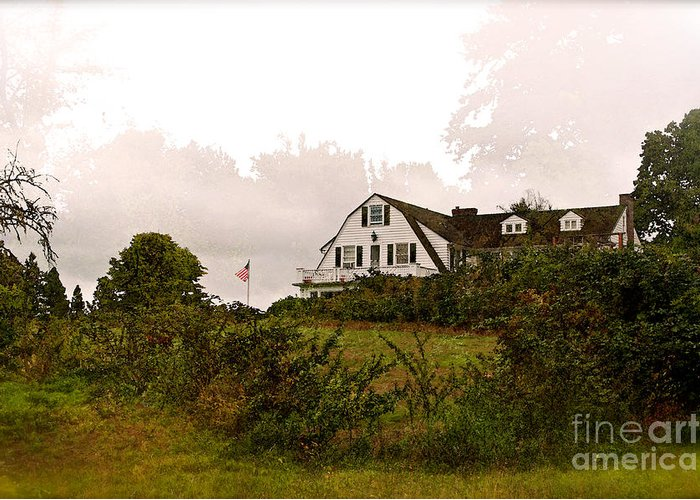 Inn Greeting Card featuring the photograph The Inn by Gwyn Newcombe