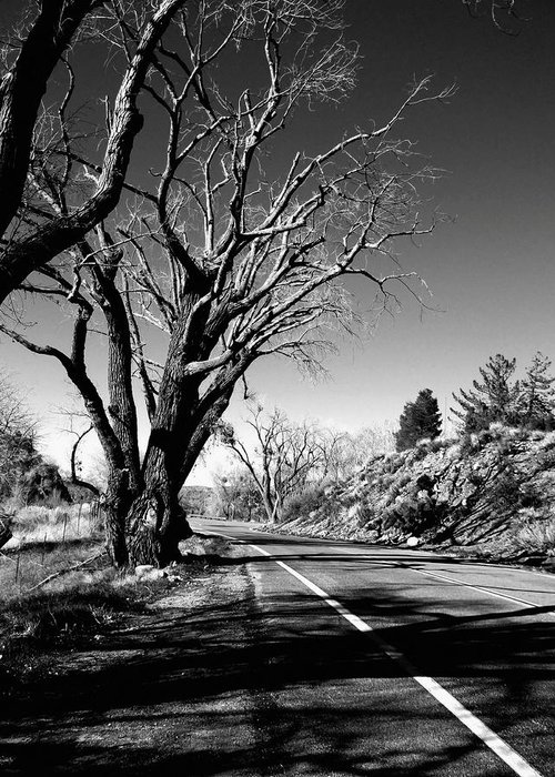 The Long Way Around Greeting Card featuring the photograph The Long Way Around by Glenn McCarthy Art and Photography