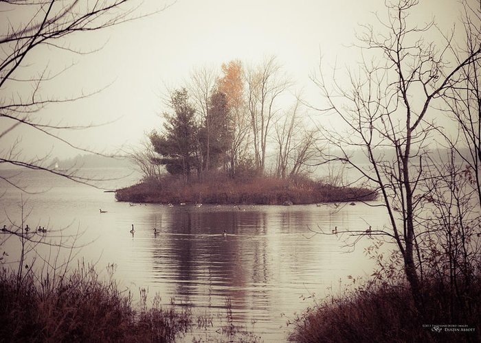 Adobe Lightroom 4 Greeting Card featuring the photograph The Morning Calm by Dustin Abbott