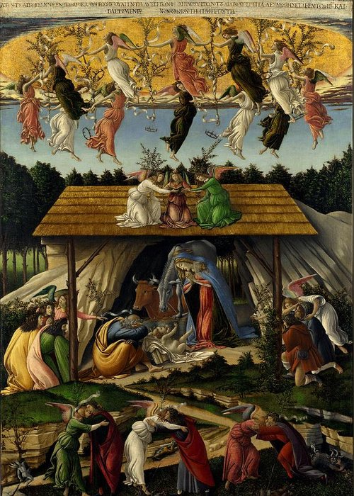 Designs Similar to The Mystical Nativity