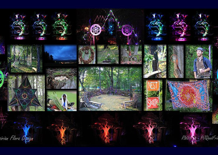 The Nest Rw2k14 Greeting Card featuring the photograph The Nest Rw2k14 by PJQandFriends Photography