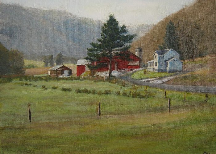 Buttonwood Farm Paintings Greeting Cards