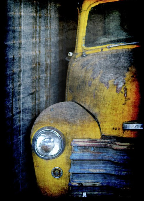 Truck Greeting Card featuring the digital art The Ol Chevy by Ernie Echols