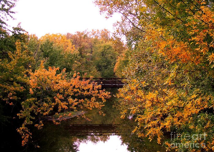 Photograph Greeting Card featuring the photograph The Old Bridge by Scott B Bennett